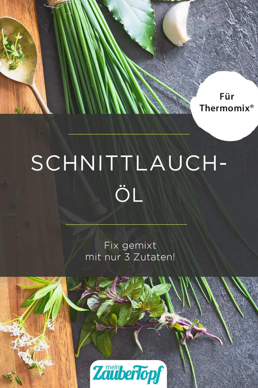Schnittlauchöl mit dem Thermomix® |Foto: gettyimages / AlexRaths
