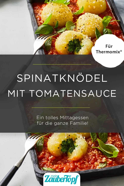 Spinatknödel mit dem Thermomix® – Foto: Marie-Therese Cramer