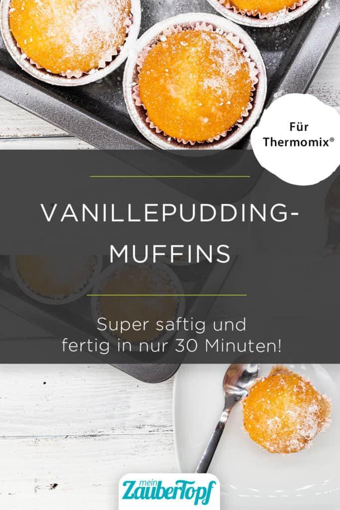Vanillepudding-Muffins mit dem Thermomix® –Foto: gettyimages / bluebeat76