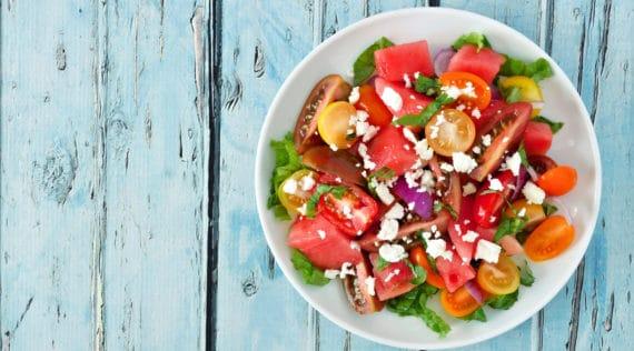 Wassermelonen-Feta-Salat mit dem Thermomix® – Foto: shutterstock.com