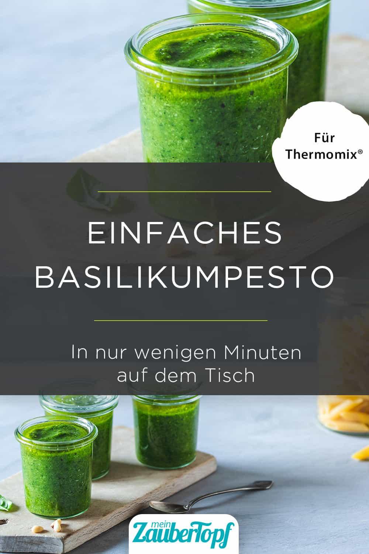 Basilikumpesto – Pesto Genovese aus dem Thermomix® - Foto: Anna Gieseler