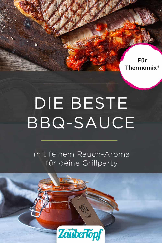 BBQ-Soße mit feinem Rauch-Aroma aus dem Thermomix® - Foto: Anna Gieseler