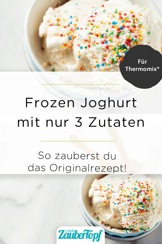 Frozen Joghurt aus dem Thermomix® - Foto: gettyimages / nschatzi