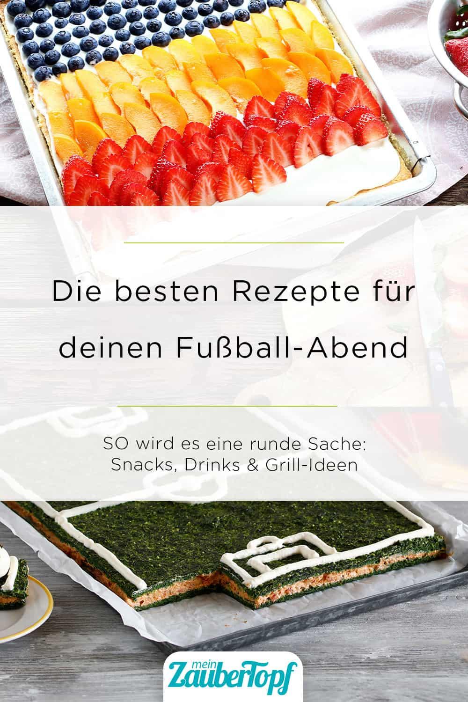 Die besten Rezept-Ideen zur Fußball-EM mit dem Thermomix® - Foto: Anna Gieseler / Alexandra Panella
