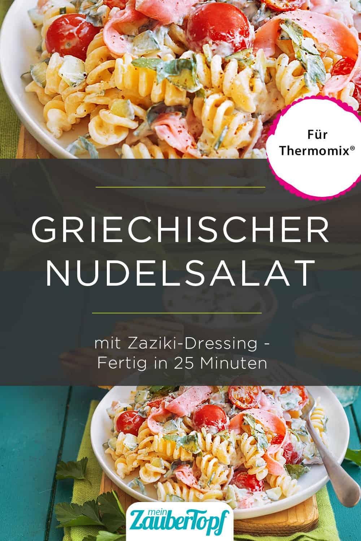 Griechischer Nudelsalat mit dem Thermomix® – Foto: Ira Leoni