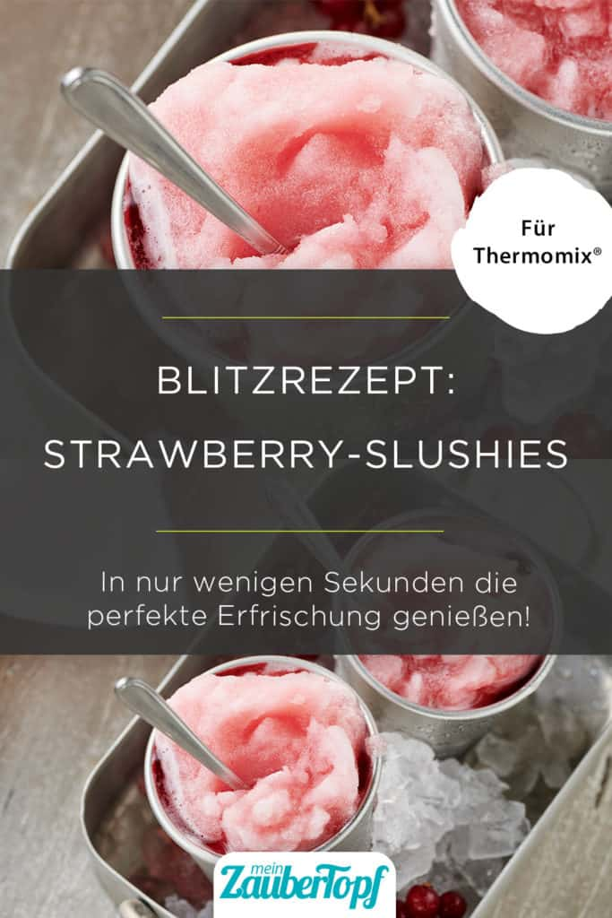 Strawberry-Slushies aus dem Thermomix® - Foto: © StockFood / Schulte-Ladbeck, Stefan
