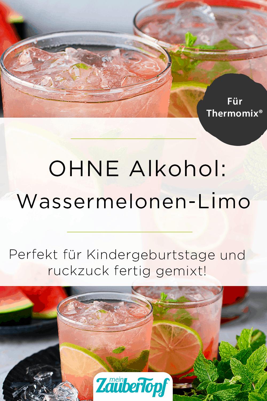 Alkoholfreie Wassermelonen-Limonade aus dem Thermomix® - StockFood / Schall, Ewgenija