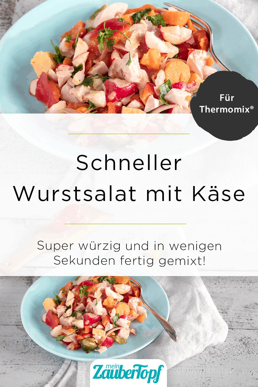 Wurstsalat mit dem Thermomix® – Foto: Anna Gieseler