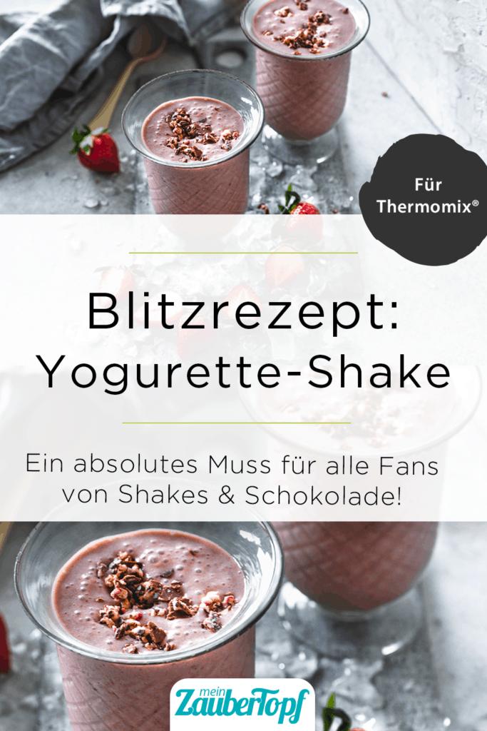 Yogurette-Shake mit dem Thermomix® – Foto:  Tina Bumann