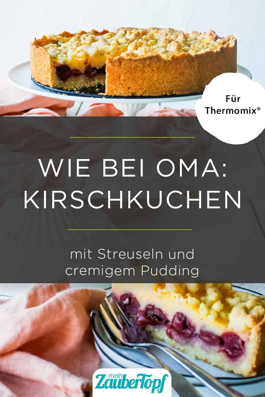 Kirschkuchen mit Pudding mit dem Thermomix® - Foto: Désirée Peikert