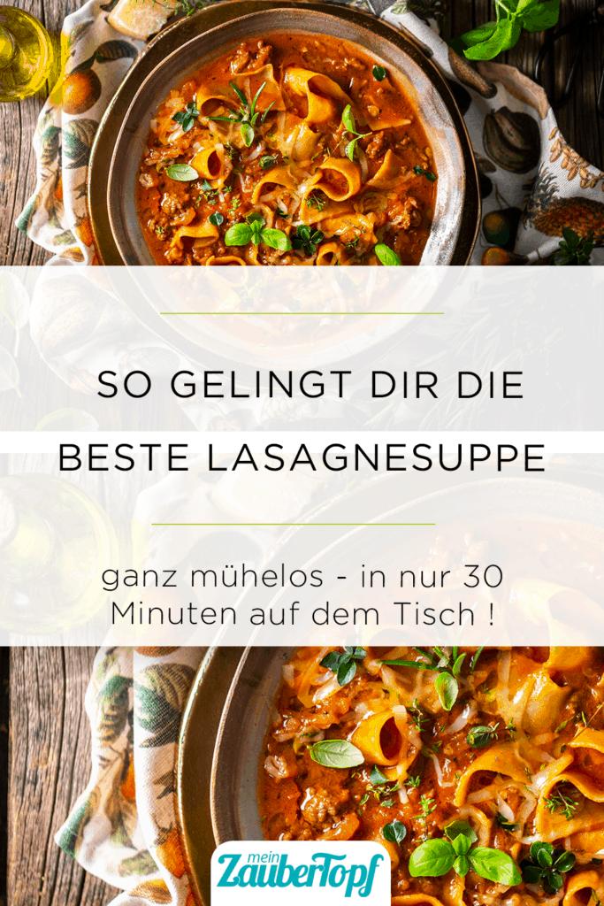 Lasagnesuppe mit dem Thermomix® –StockFood / Krimshandl-Tauscher, Sandra