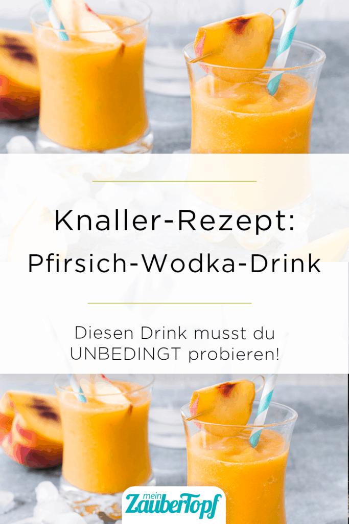 Pfirsich-Wodka-Drink mit dem Thermomix® – Foto: © StockFood/Avalos Flores, Maricruz