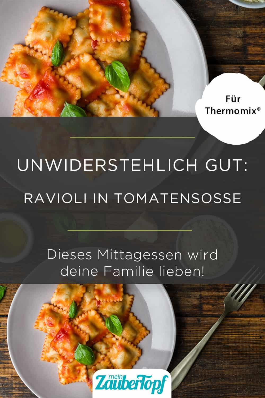 Ravioli in Tomatensoße mit dem Thermomix® - Foto: gettyimages / Aleksandr_Vorobev