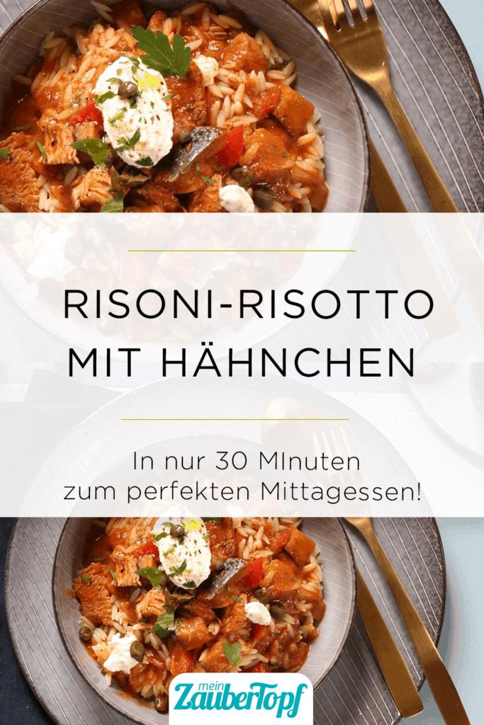 Risoni-Risotto mit Hähnchen aus dem Thermomix® –Foto: Sebastian Lenz