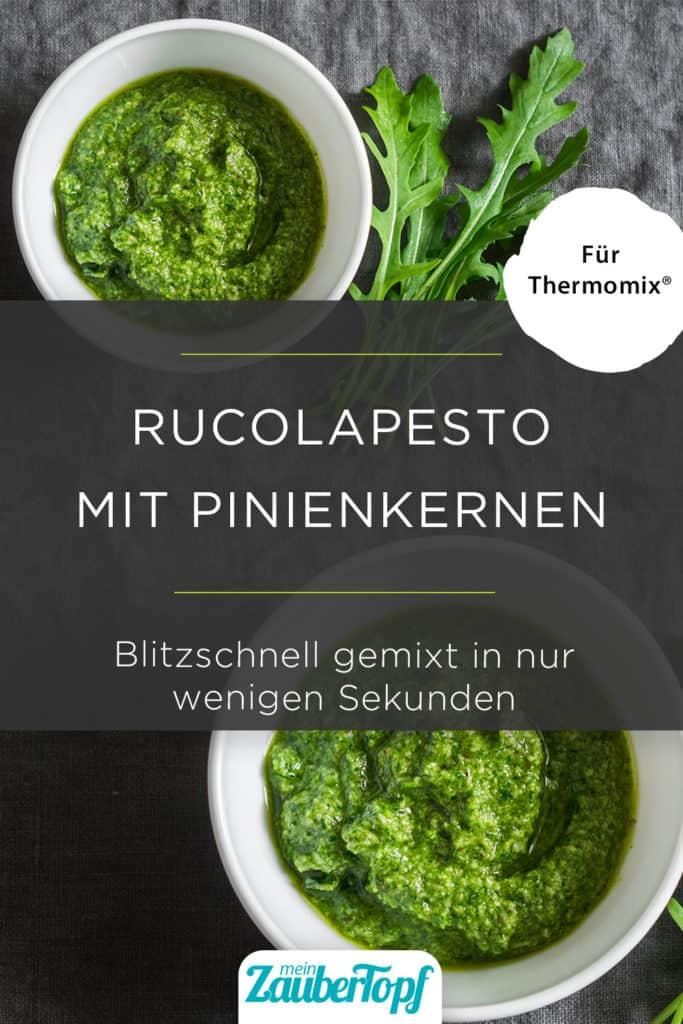 Rucolapesto mit dem Thermomix® –Foto:  gettyimages.de/OksanaKiian