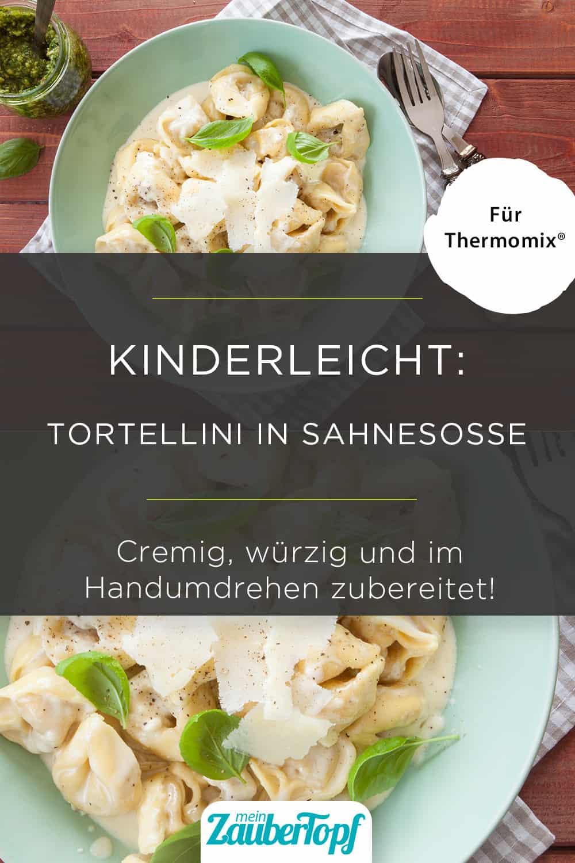 Tortellini in Sahnesoße mit dem Thermomix® - Foto: gettyimages / picalotta