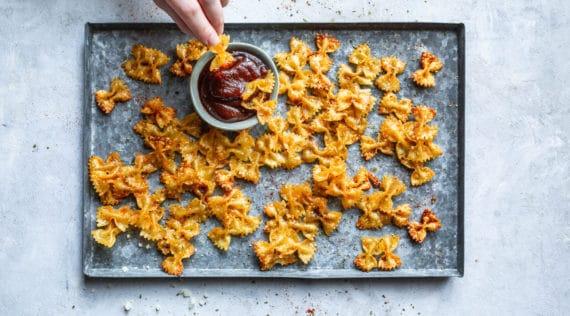 Pasta Chips mit dem Monsieur Cuisine – Foto: Anna Gieseler