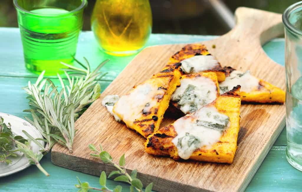 Polentaecken mit Gorgonzola mit dem Thermomix® - Foto: Ira Leoni