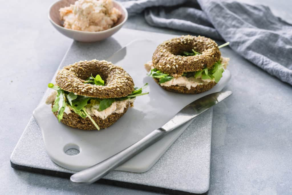Glutenfreie Bagels mit Lachs –Foto: Tina Bumann
