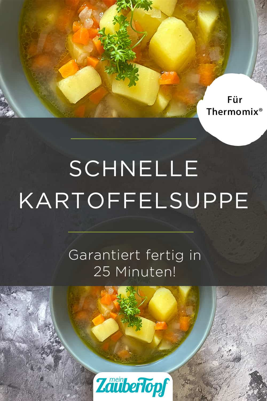 Kartoffelsuppe mit Karotten aus dem Thermomix® - Foto: gettyimages / Julia Nagy