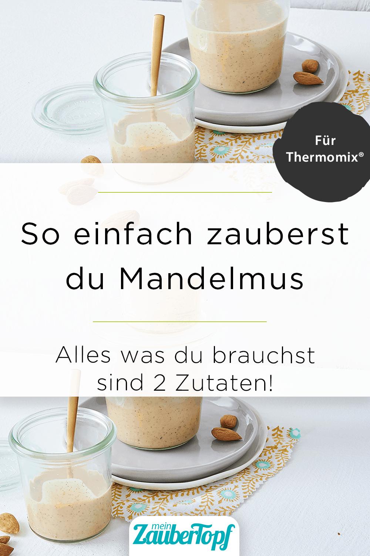 Mandelmus aus dem Thermomix® - StockFood / Gräfe & Unzer Verlag / Brinkop, Maria