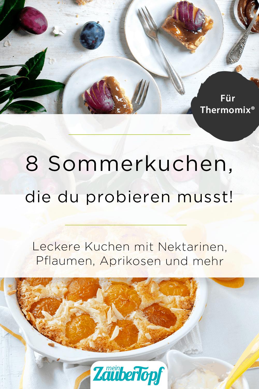 Sommerkuchen mit dem Thermomix® –Foto: Katharina Kuller / Frauke Antholz