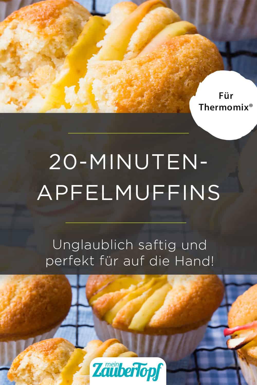 Apfelmuffins mit dem Thermomix® –Foto: Sophia Handschuh