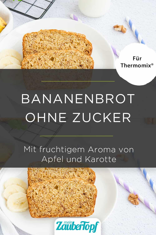 Bananenbrot mit Karotte und Apfel mit dem Thermomix® - Foto: gettyimages / Irina Taskova