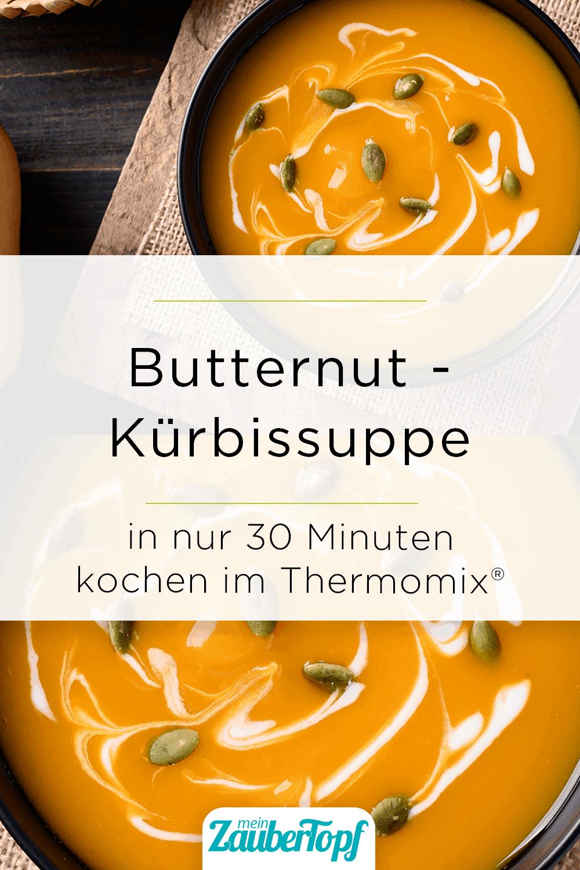 Butternut Kürbissuppe aus dem Thermomix® - Foto: gettyimages / Nungning20