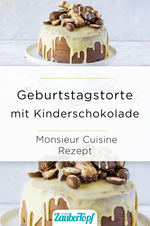 Kinderschokolade-Torte – Rezept für den Monsieur Cuisine – Foto: Désirée Peikert