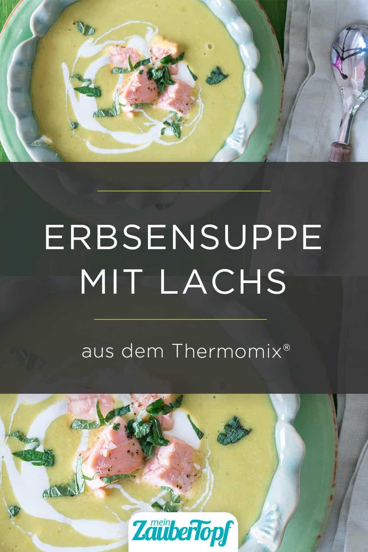 Erbsensuppe mit Lachs aus dem Thermomix® - Foto: Tina Bumann