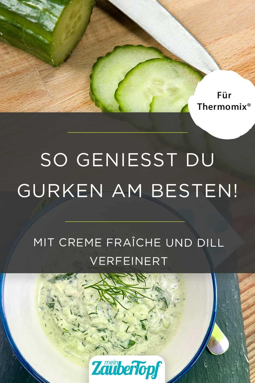 Gurkensalat mit Senf-Dill-Soße –Foto: Pixabay & Nicole Schmidt