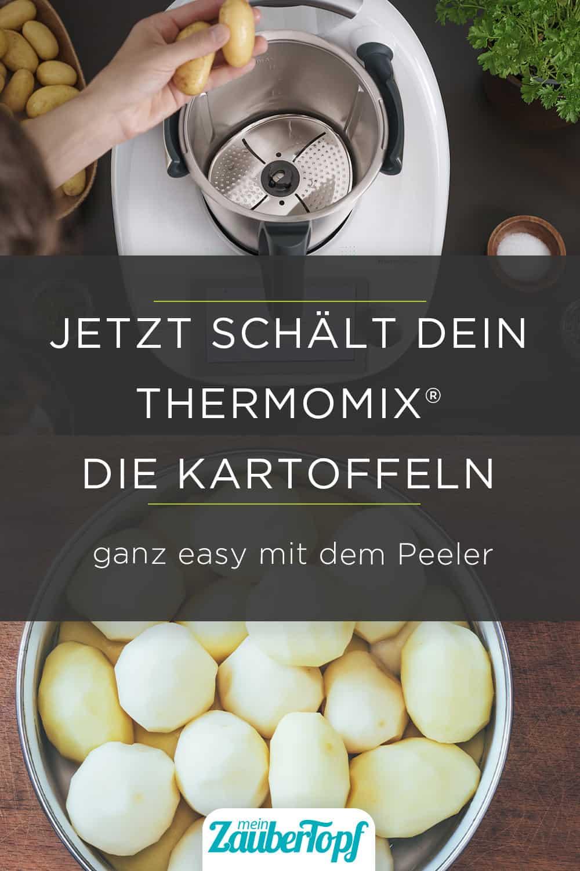 Kartoffeln schälen im Thermomix® mit dem Peeler – Foto: Vorwerk gettyimages / gutaper