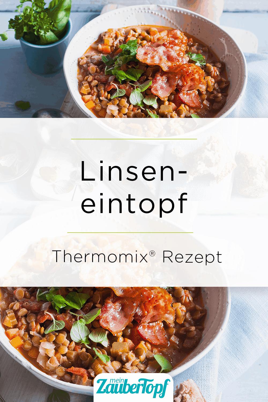 Linseneintopf mit Tomaten und Speck aus dem Thermomix® –Foto: Ira Leoni