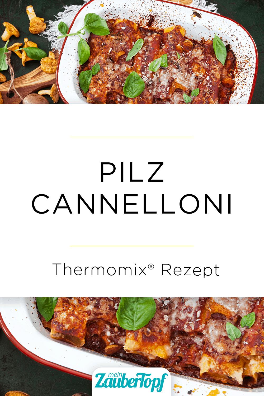 Cannelloni mit Pilzen aus dem Thermomix® –Foto: Frauke Antholz