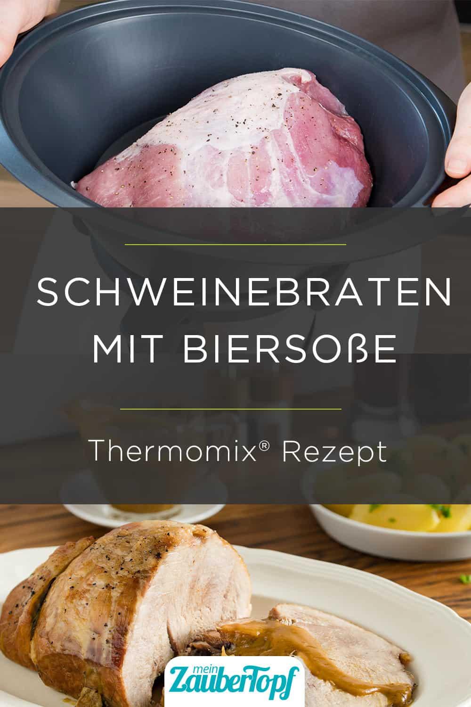 Schweinebraten mit Biersoße mit dem Thermomix® –Foto: Anna Gieseler