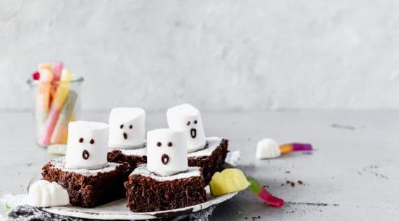Brownie-Gespenster mit dem Monsieur Cuisine –Foto: Désirée Peikert