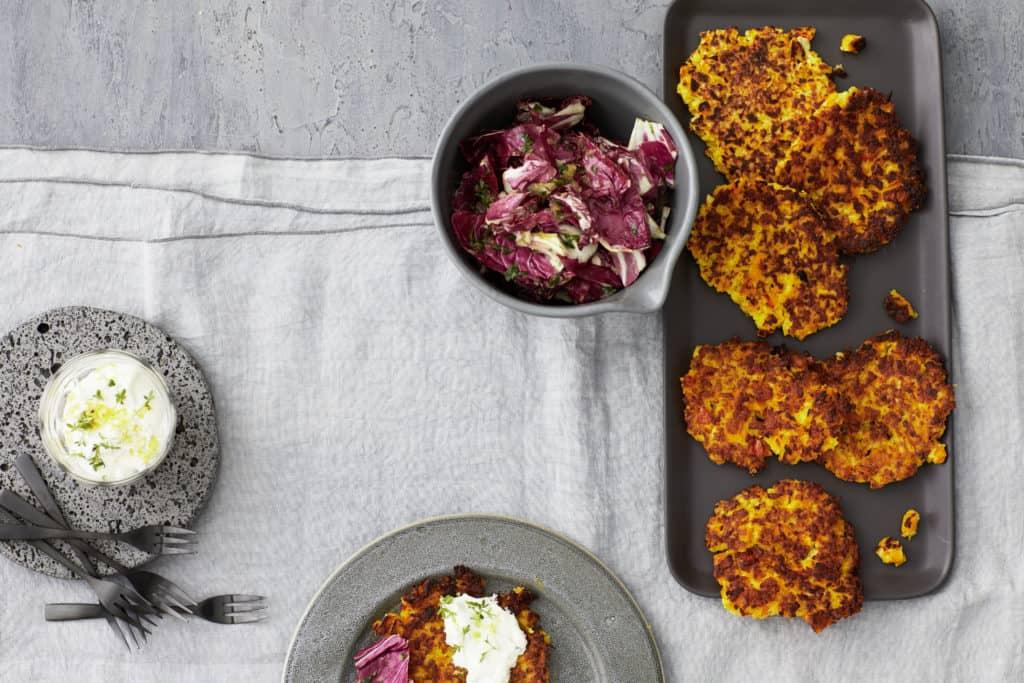 Kartoffel-Kürbis-Rösti aus dem Thermomix® –Foto: Jorma Gottwald